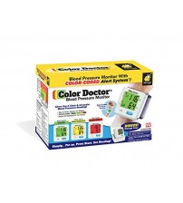 Color Doctor Blood Pressure Monitor with Color Coded Alert System!
